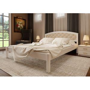 Двуспальная кровать Британия мягкая  (ЧДК) 160*190-200 см