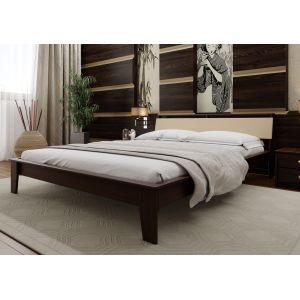 Двуспальная кровать Венеция мягкая  (ЧДК) 160*190-200 см