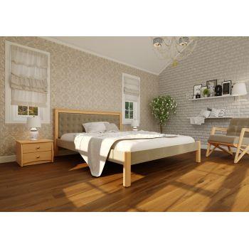 Двуспальная кровать Модерн Комби  (ЧДК) 160*190-200 см