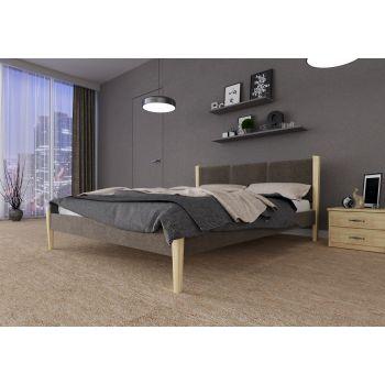 Двуспальная кровать Сеул без подъемного механизма (ЧДК) 160*190-200 см