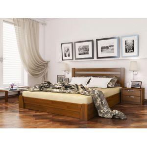 Двуспальная кровать Селена 160*200 см щит бука 103 цвет (РАСПРОДАЖА с выставки)