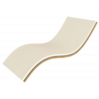 Двуспальный топпер Take&Go Bamboo Ultra Kokos 160*190-200 см