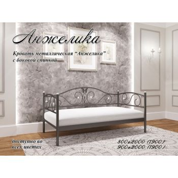 Односпальная кровать Анжелика 90*190-200 см