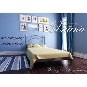 Односпальная кровать Диана Металл - Дизайн 80*190-200 см