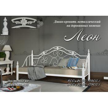 Односпальная кровать Леон 90*190-200 см