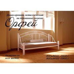 Кровать Орфей белая 80*190 см (РАСПРОДАЖА с выставки)