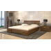 Полуторная кровать Дали Люкс (без подъемного механизма) 140*190-200 см