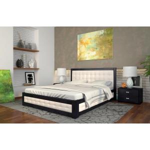 Деревянные кровати с мягким изголовъем