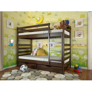 Двухъярусная кровать Рио с выкатным спальным местом 90*190-200 см