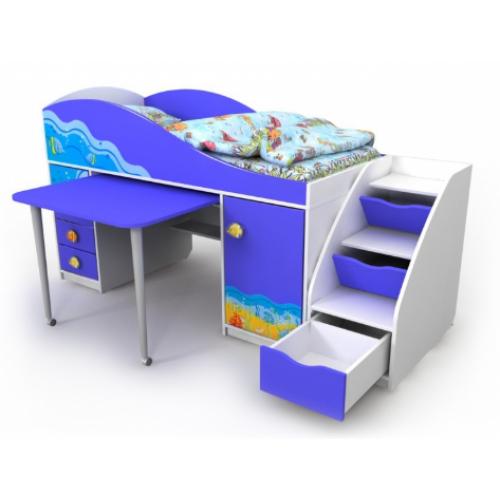 кровати-чердаки