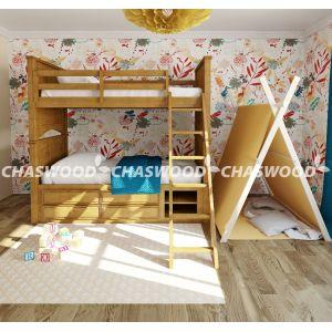 Двухъярусная кровать-трансформер Аделина 90*190 см