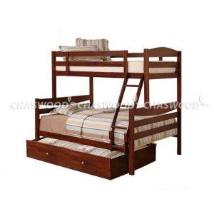 Двухъярусная кровать-трансформер Арина 90*190 и 120*190 см