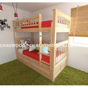 Двухъярусная кровать-трансформер Жанна 90*190 см