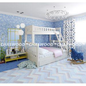 Двухъярусная кровать-трансформер Жасмин 90*190 и 120*190 см