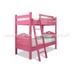 Двухъярусная кровать-трансформер Лапушка 90*190 см