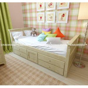 Детская кровать Медвежонок 90*190 см