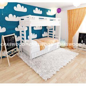 Двухъярусная кровать Оскар 90*190 см