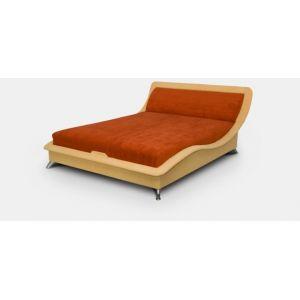 Полуторная кровать Элегия с матрасом 150*190 см