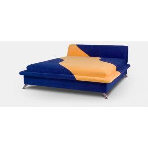 Полуторная кровать Волна с матрасом 150*190 см