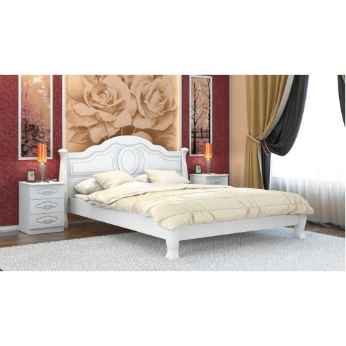 дерев'яне ліжко
