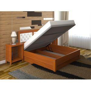Односпальная кровать Диана Люкс с подъемным механизмом 90*190-200 см