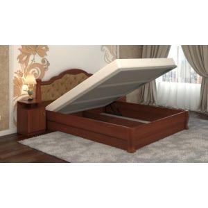Двуспальная кровать Татьяна-элегант Люкс с подъемным механизмом 160*190-200 см
