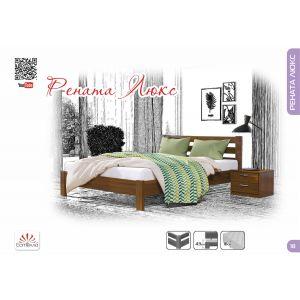 Двуспальная кровать Рената Люкс 160*190-200 см