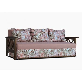 Диван-кровать Прованс с задней спинкой