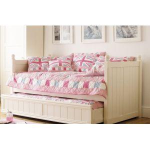 Детская кровать Бемби 90*190 см с дополнительным спальным местом (80*180 см)