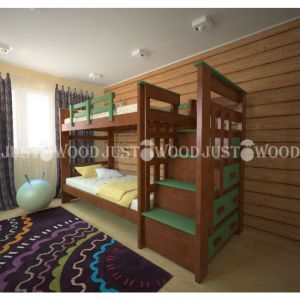 Двухъярусная кровать Авоська 100*190