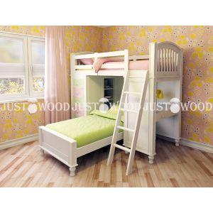 Комплект детской мебели Гуффи-1 (2 кровати + стол + комод) 90*200 см и 90*190 см