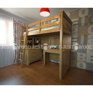 Комплект детской мебели Джерри (кровать + стол + комод) 90*190 см