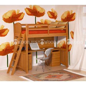 Комплект детской мебели Марли (кровать + стол) 90*190 см