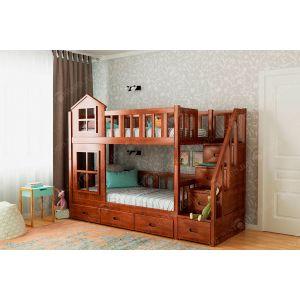 Двухъярусная кровать Дружба 90*190
