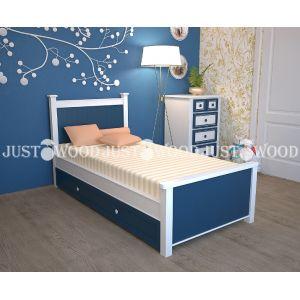 Детская кровать Немо 90*190 см с дополнительным спальным местом (80*180 см)