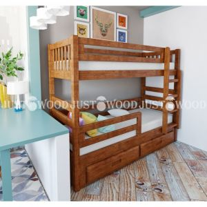 Двухъярусная кровать Панда 90*190