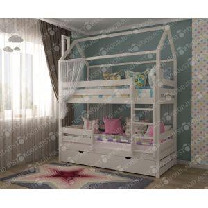 Двухъярусная кровать Семейка 90*190