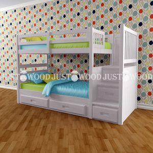 Двухъярусная кровать Шериф Плюс 100*190