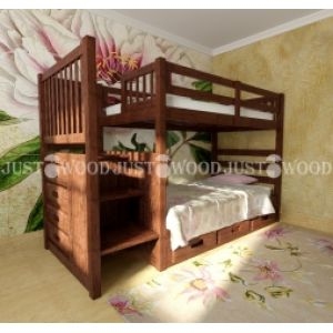 Двухъярусная кровать Шериф 100*190