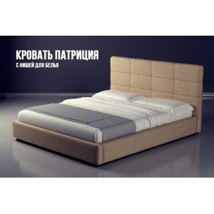 Двуспальная кровать Патриция с матрасом 160*190 см