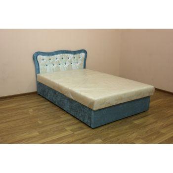 Полуторная кровать Ева с матрасом 120*190 см