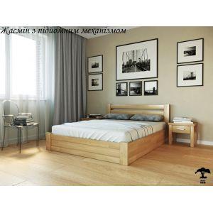 Двуспальная кровать Жасмин с подъемным механизмом 160*190-200 см