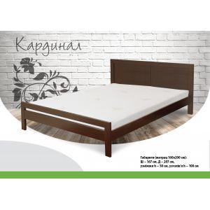 Двуспальная кровать Кардинал 160*190-200 см