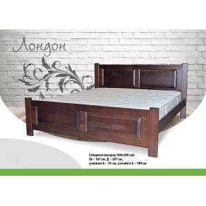 Двуспальная кровать Лондон 160*190-200 см