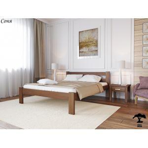 Двуспальная кровать Соня 160*190-200 см