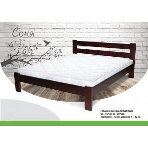 Односпальная кровать Соня 90*190-200 см