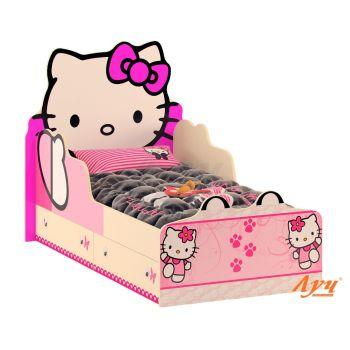 Детская кровать Хелло Китти (Hello Kitty) 80*160 см