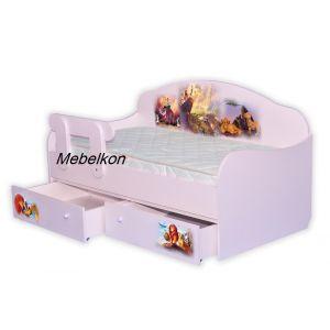 Детская кровать-диванчик Король Лев 80*160 см (Мебелькон)