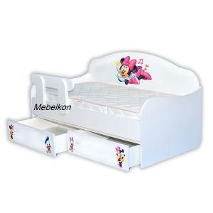 Детская кровать-диванчик Микки - Маус 90*190 см