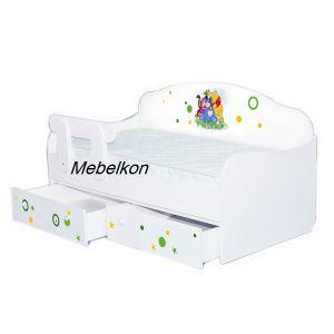Детская кровать-диванчик Винни 80*190 см (Мебелькон)